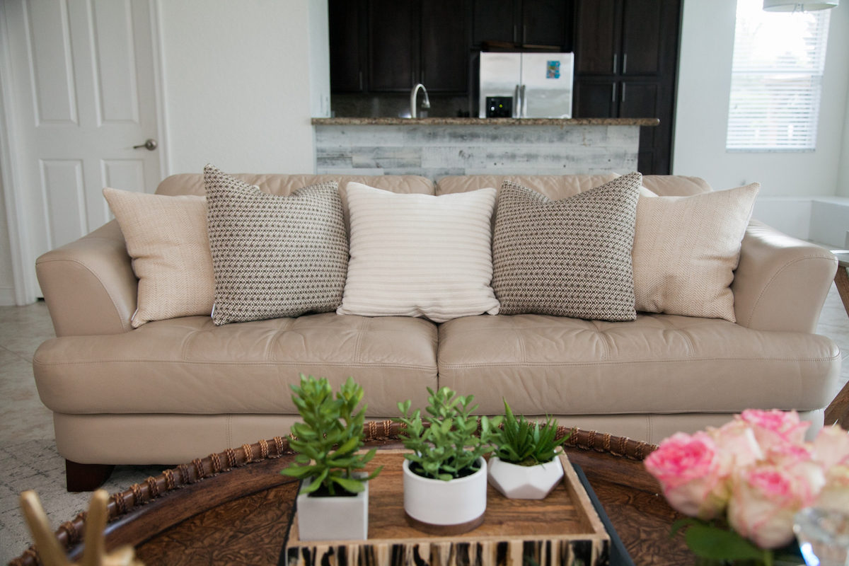 Living Room Decor :: Custom Pillows by Defined Designs