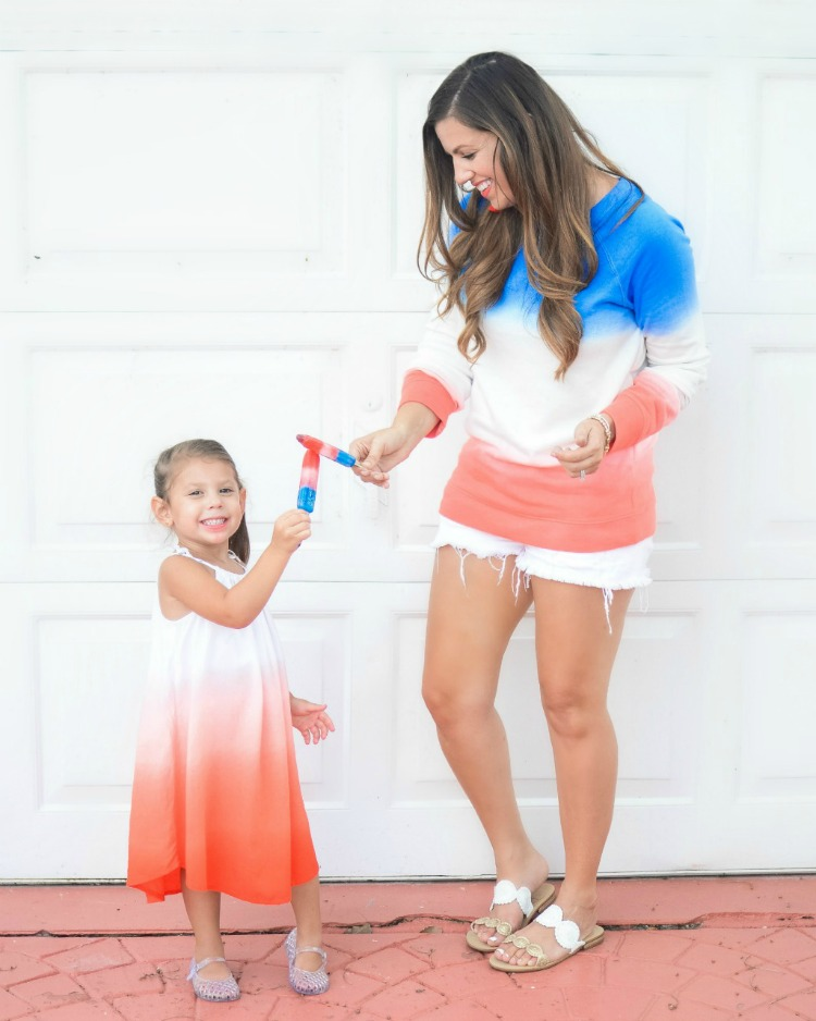 Old Navy July 4th style, mommy and me fashion