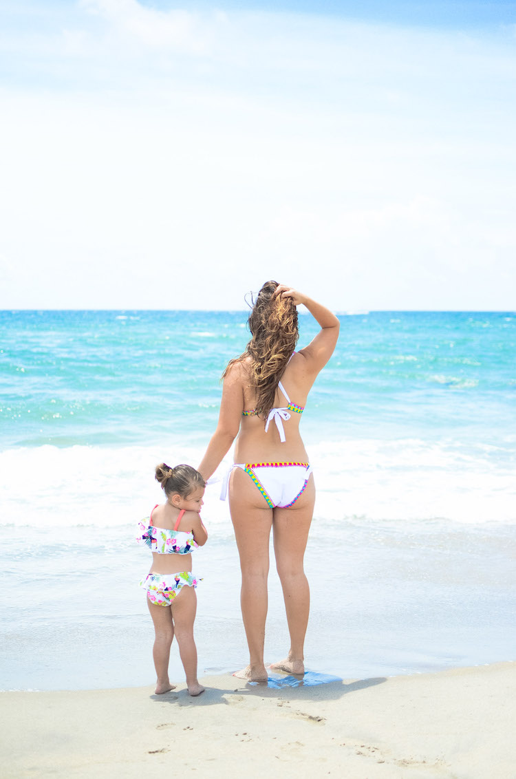 WalaSwim bikini, PLATINUM CROCHET TRIM FULL TIE-SIDE HIPSTER