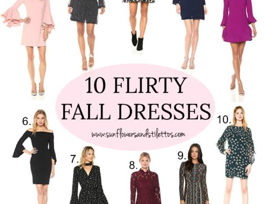 Best Dresses for Fall _ Sunflowers and Stilettos Fashion Blog