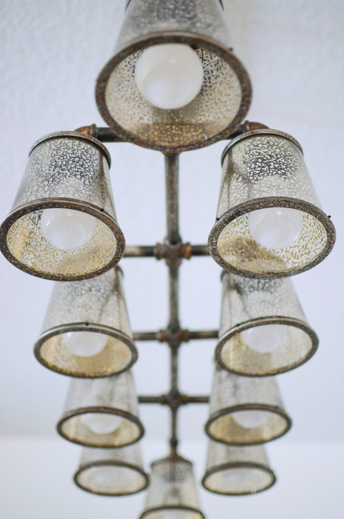 Industrial Chandelier from Lamps Plus