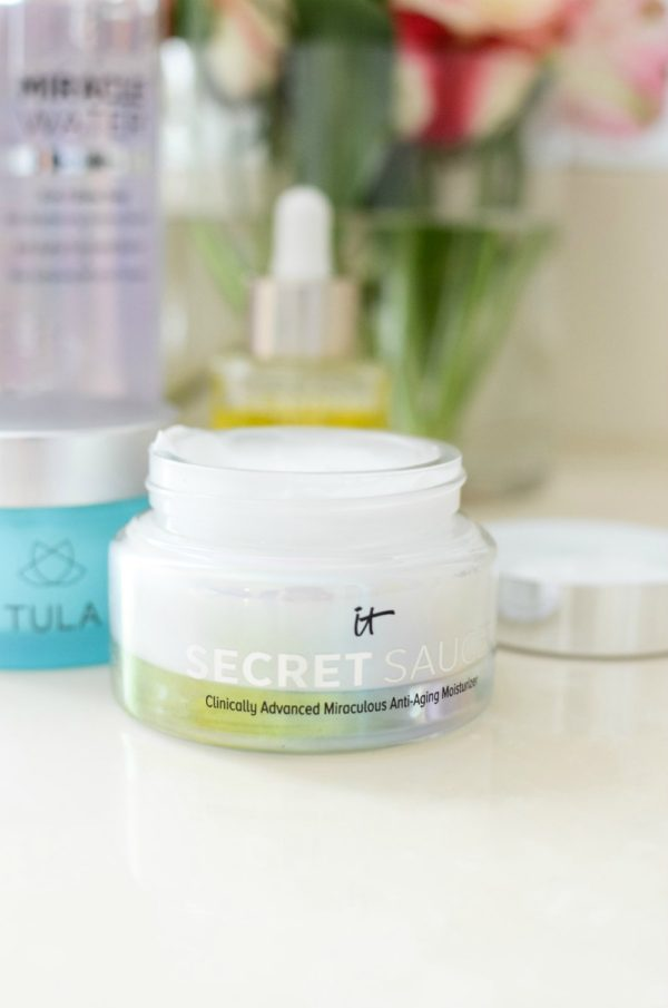 skincare routine it cosmetics secret sauce _ best moisturizer