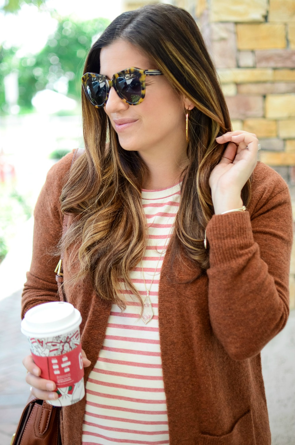 perfect Thanksgiving outfit, cozy cardigan