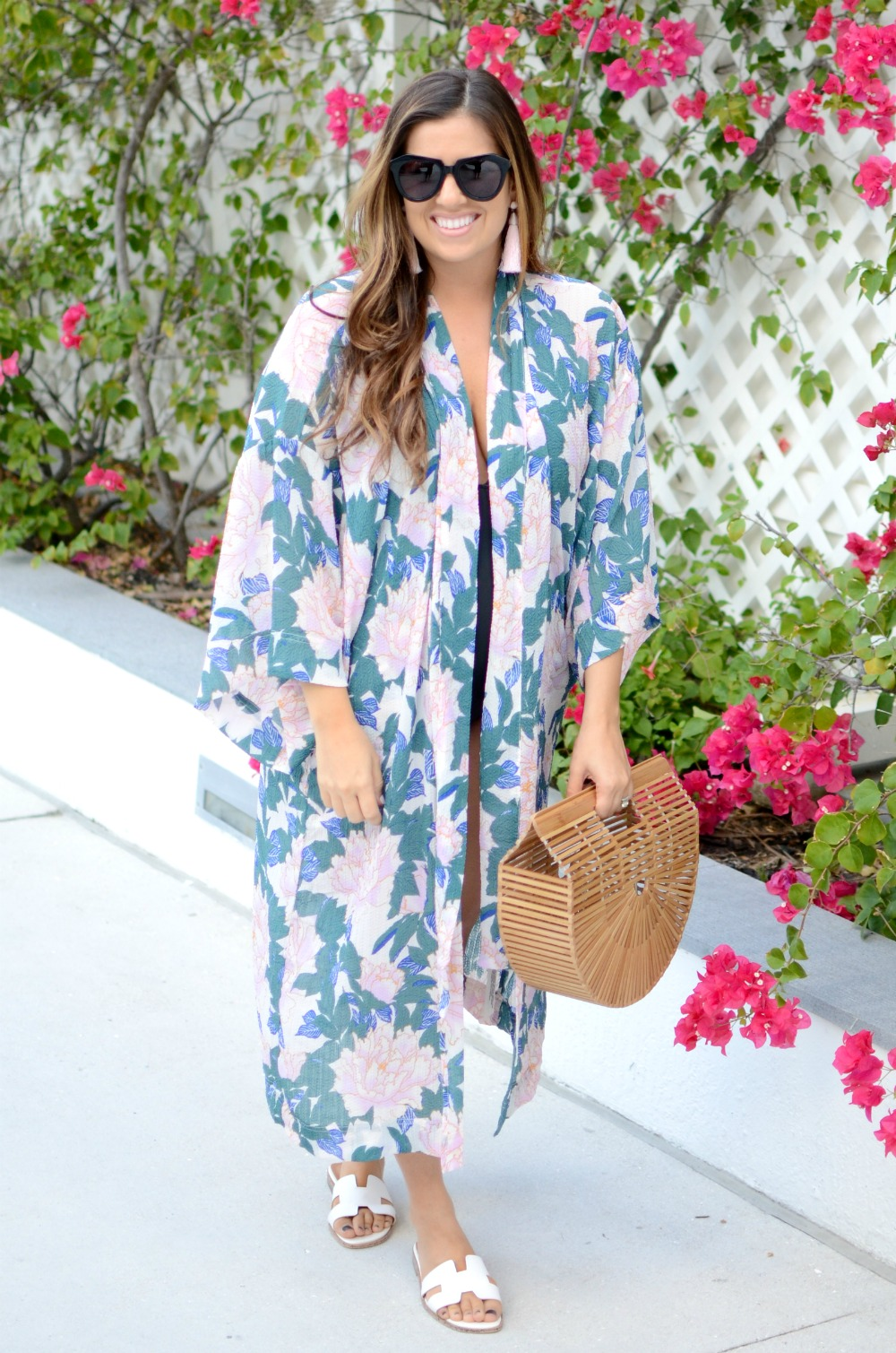 Free People Kimono, Hermes sandals dupe