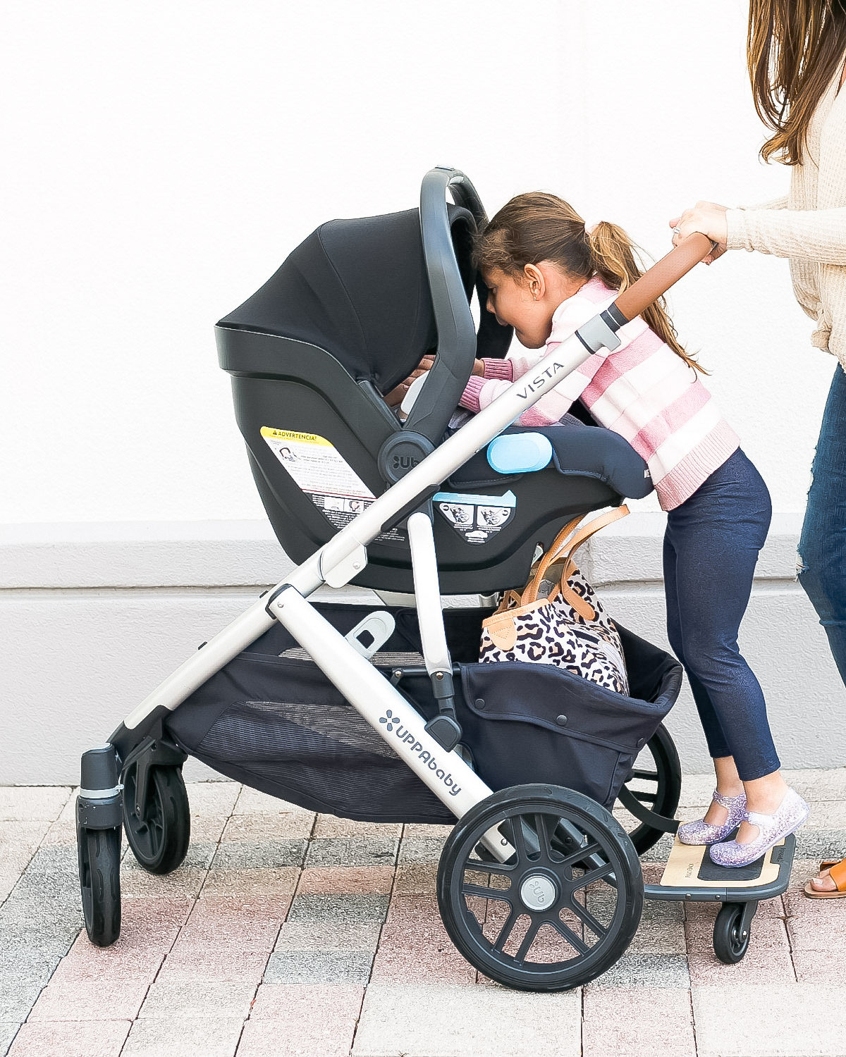 UPPAbaby VISTA stroller with MESA carseat review, Sunflowers and Stilettos fashion, lifestyle, and motherhood blog