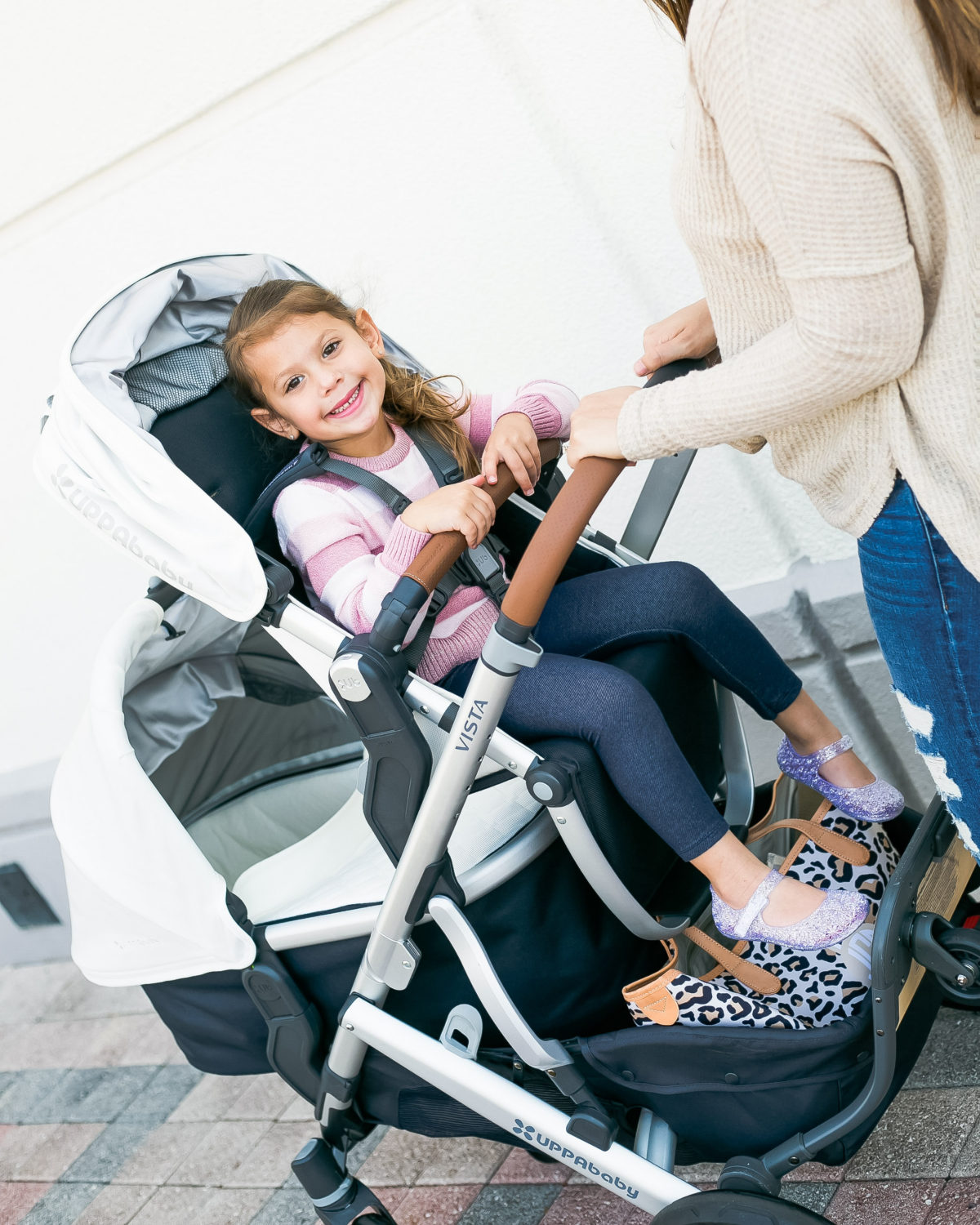 best double stroller, chicest stroller, UPPAbaby Vista