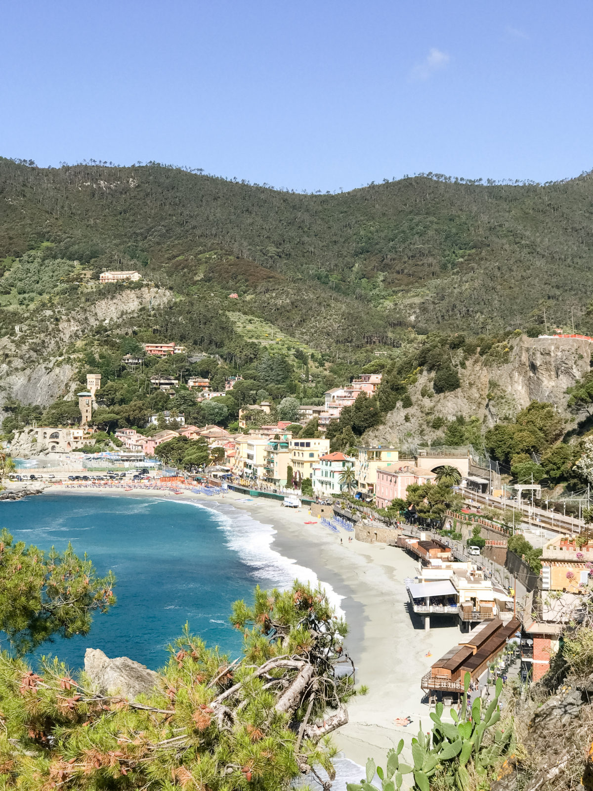 tuscany cinque terre monterosso travel guide, where to stay in Cinque Terre