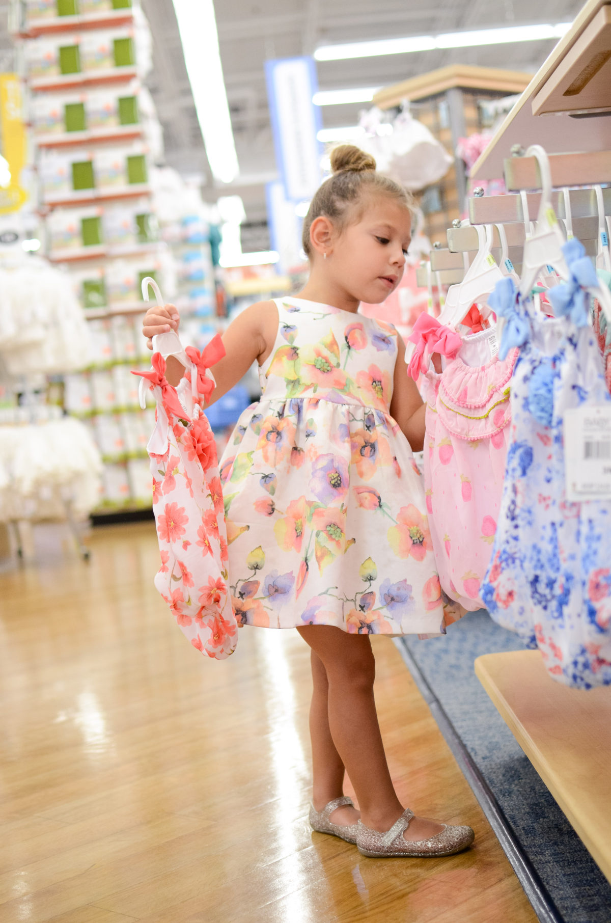 buybuy BABY toddler girl clothes, toddler floral dress for a Spring Wedding