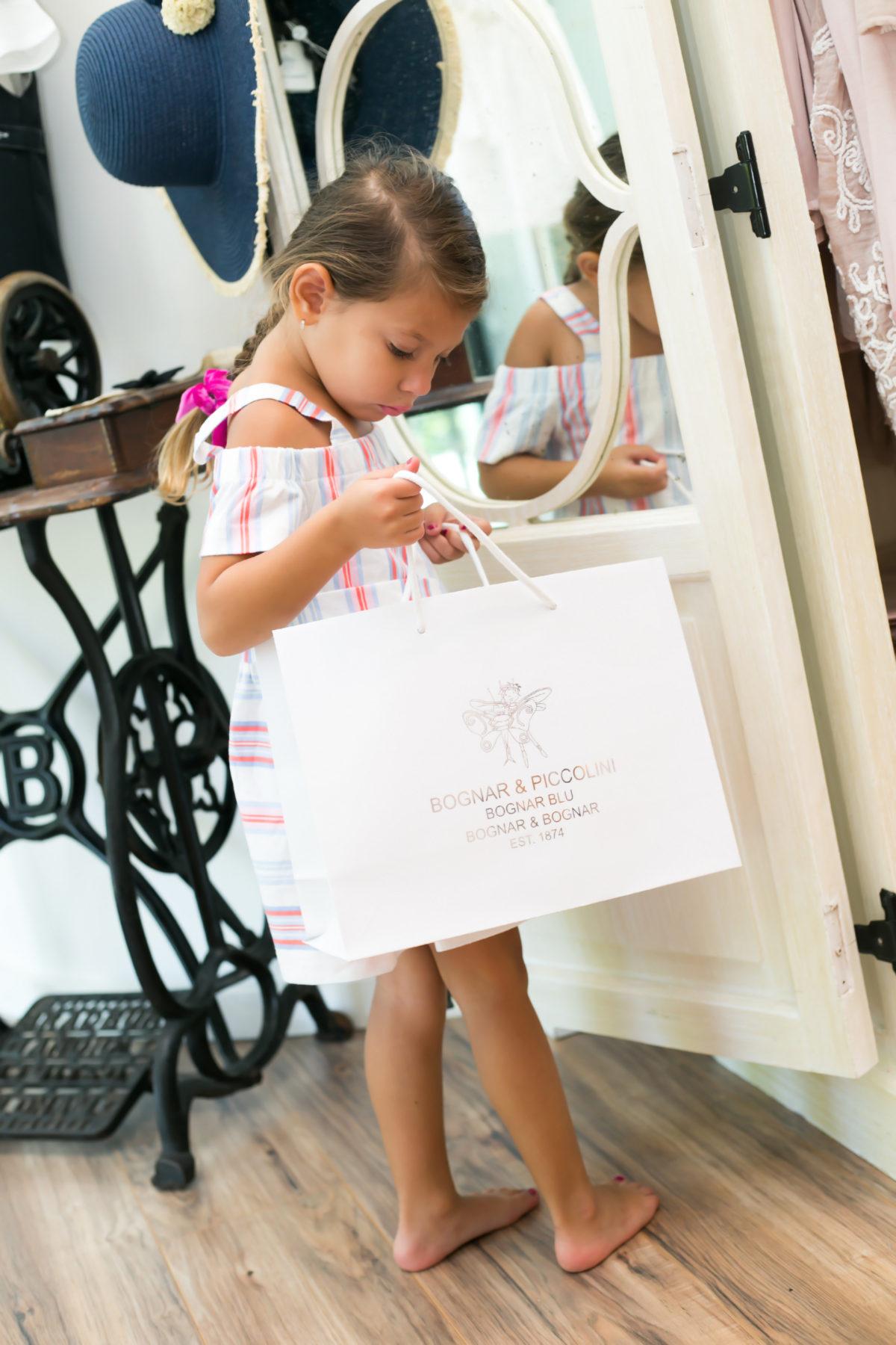 Bognar and Peccolini Palm Beach, children's shopping Palm Beach