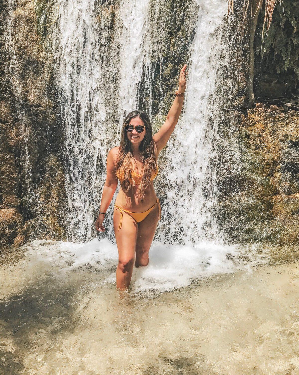Ein Gedi waterfalls, Israel
