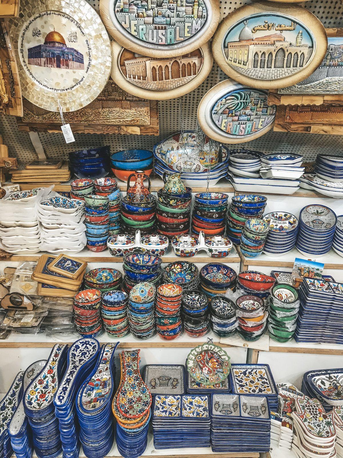 Old City Jerusalem markets