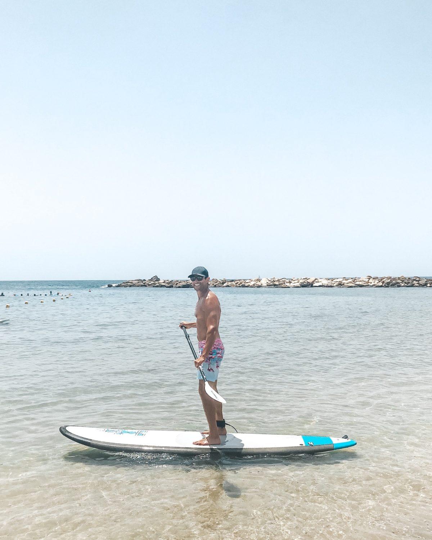 Tel Aviv paddle boarding