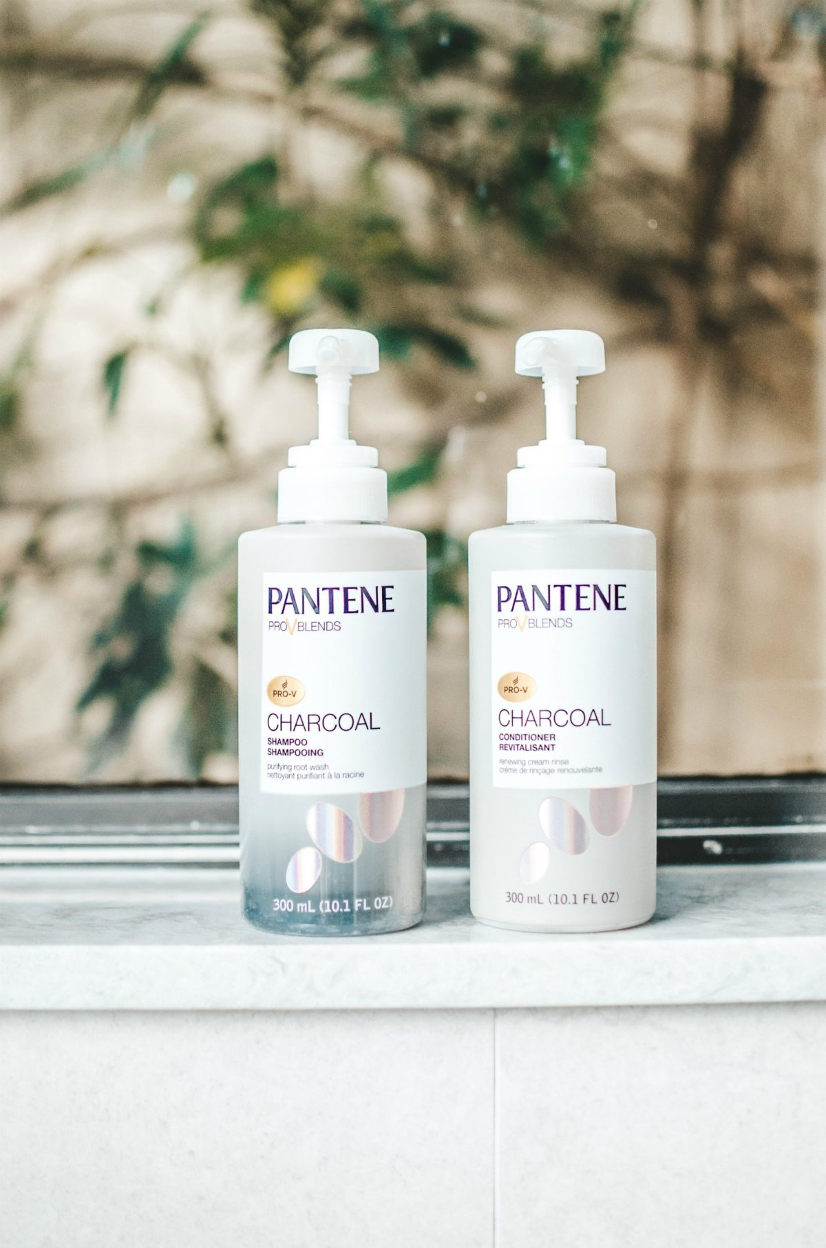 charcoal shampoo and conditioner, activated charcoal shampoo, Pantene Charcoal