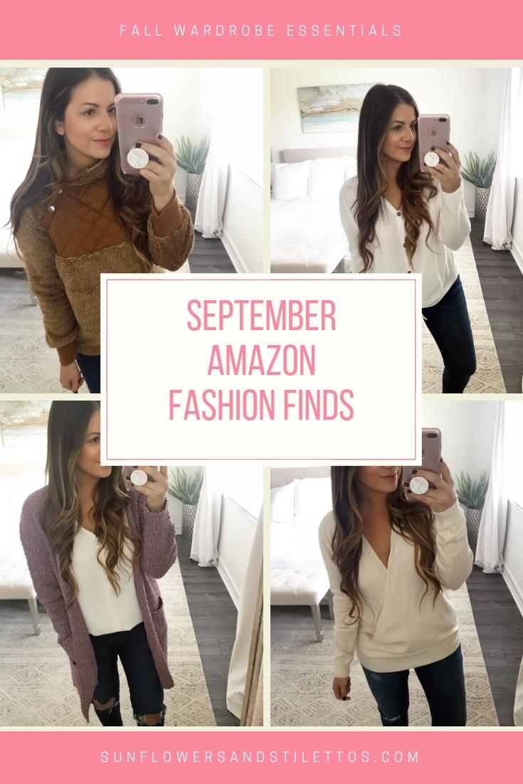 September Amazon Fashion Finds