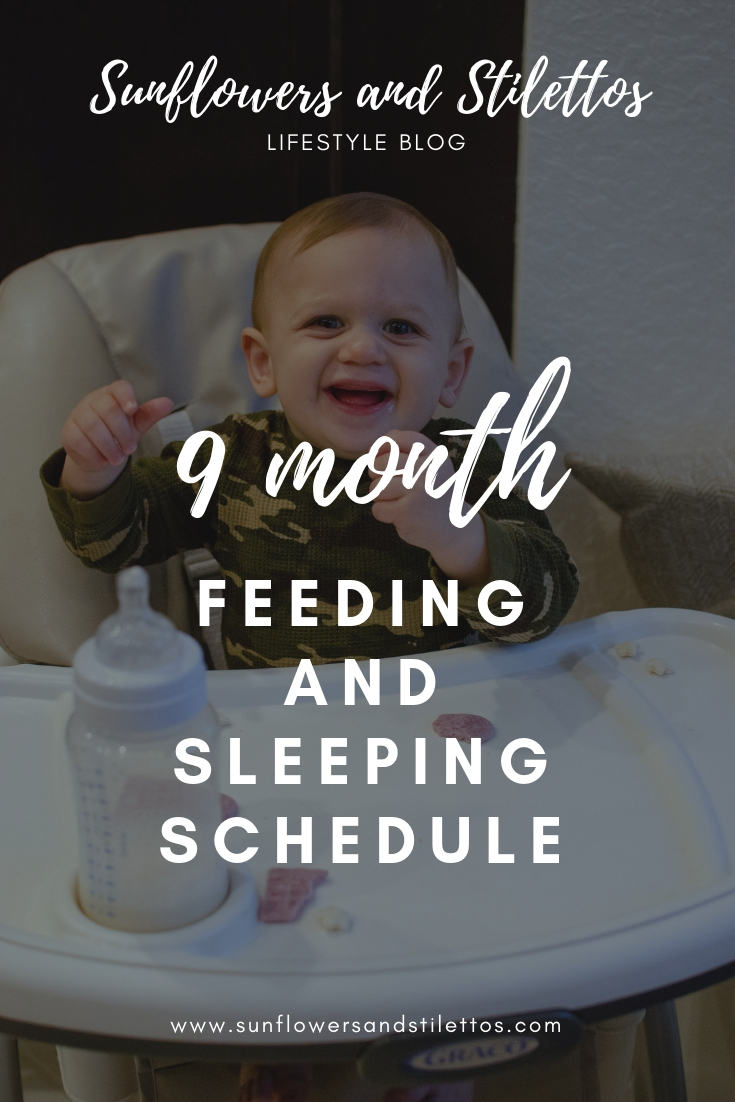 9 month feeding and sleeping schedule