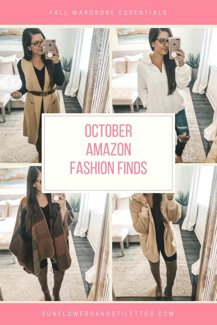 OCTOBER AMAZON FASHION, FALL WARDROBE ESSENTIALS