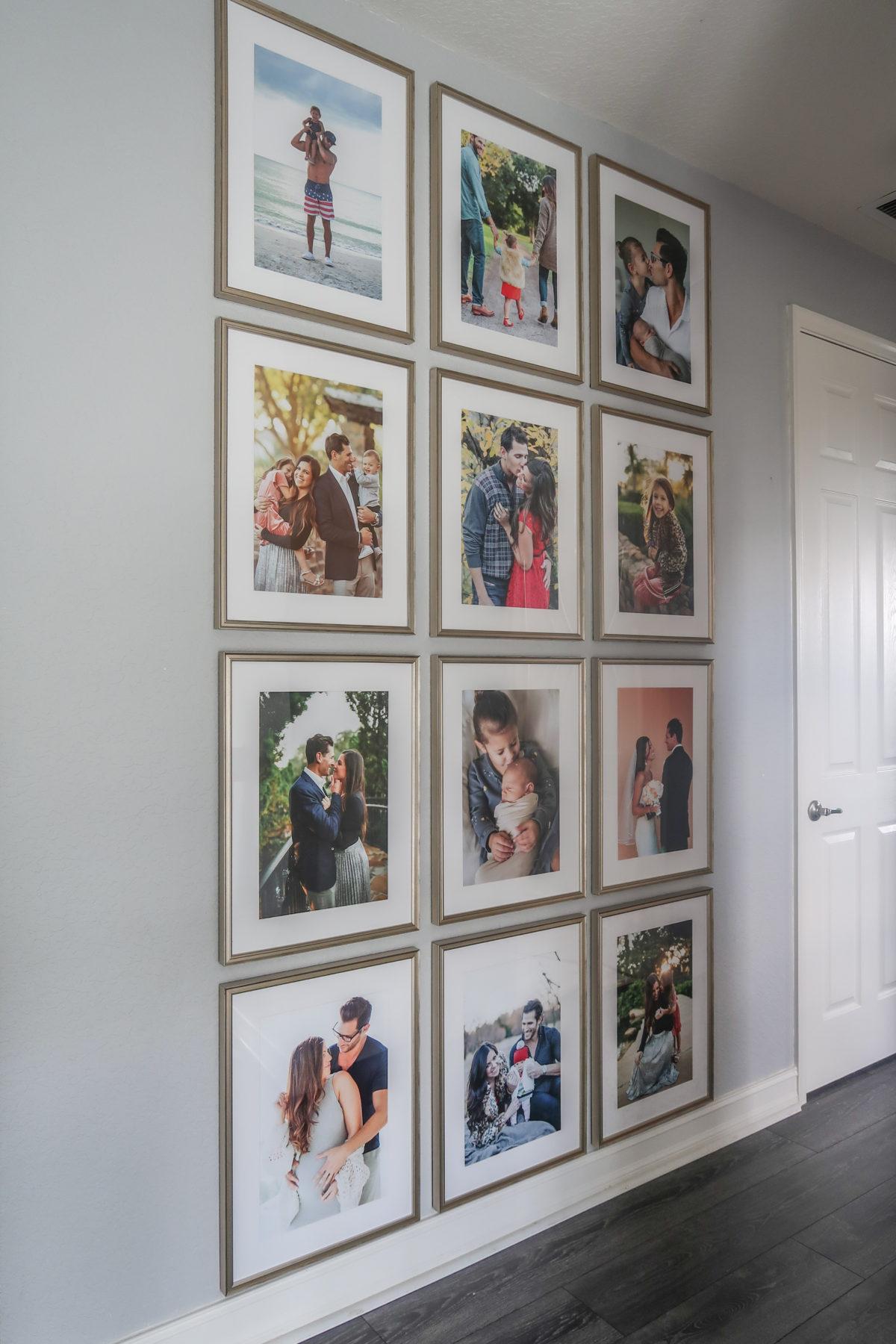Framebridge gallery wall, DIY gallery wall, best gallery wall