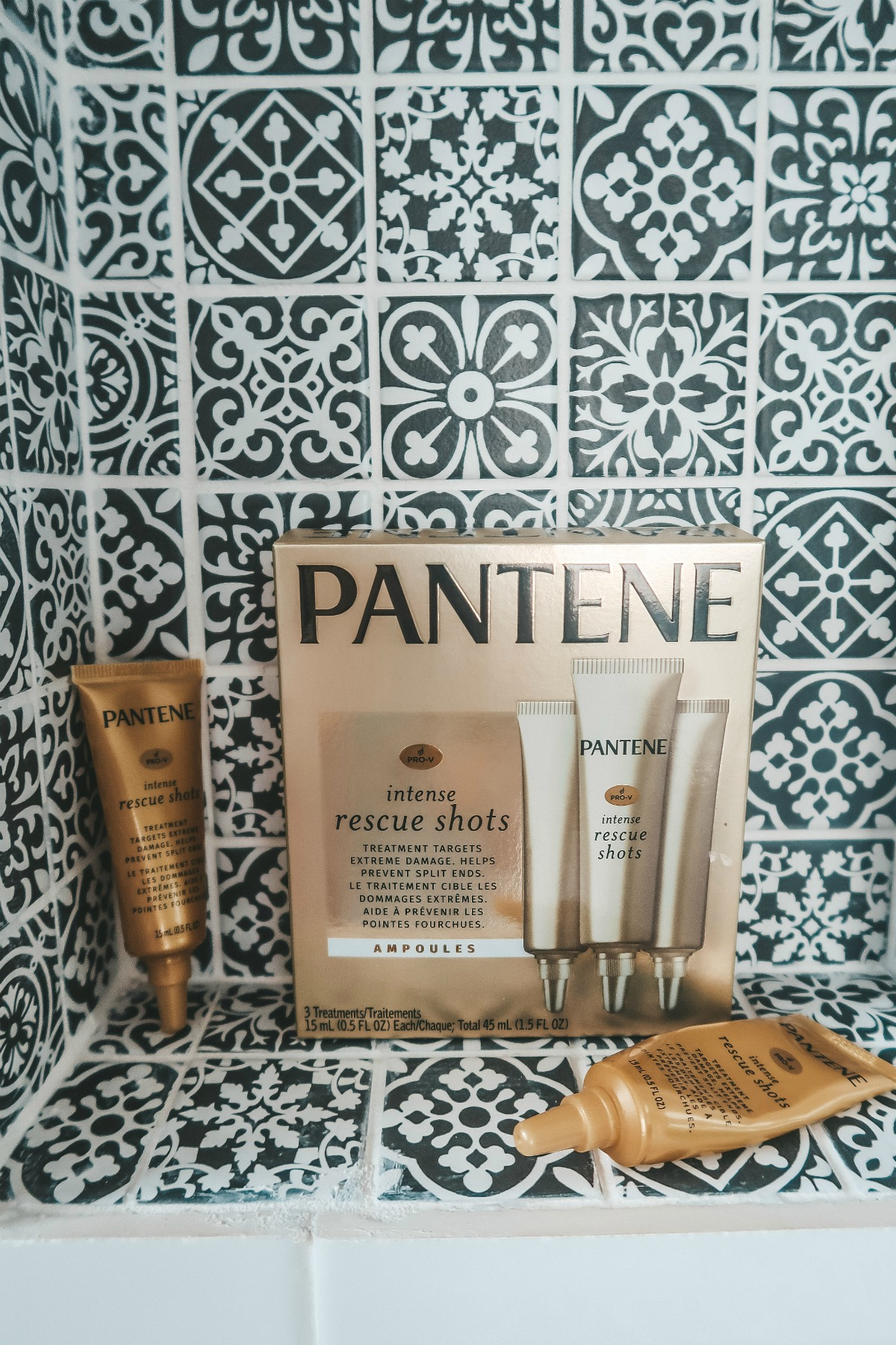 PANTENE RESCUE SHOTS PRODUCT REVIEW , Pantene Pro-V Rescue Shots