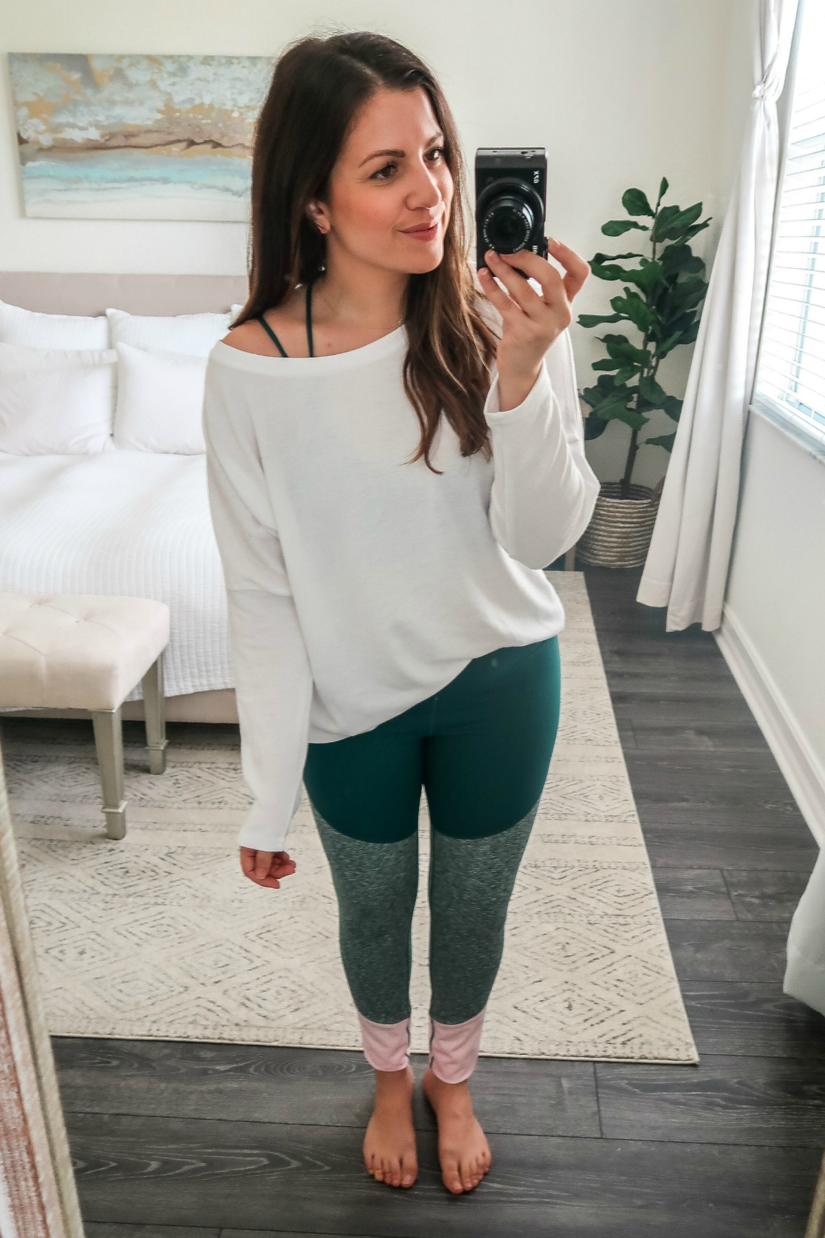 January Amazon Fashion Core 10 tri color leggings
