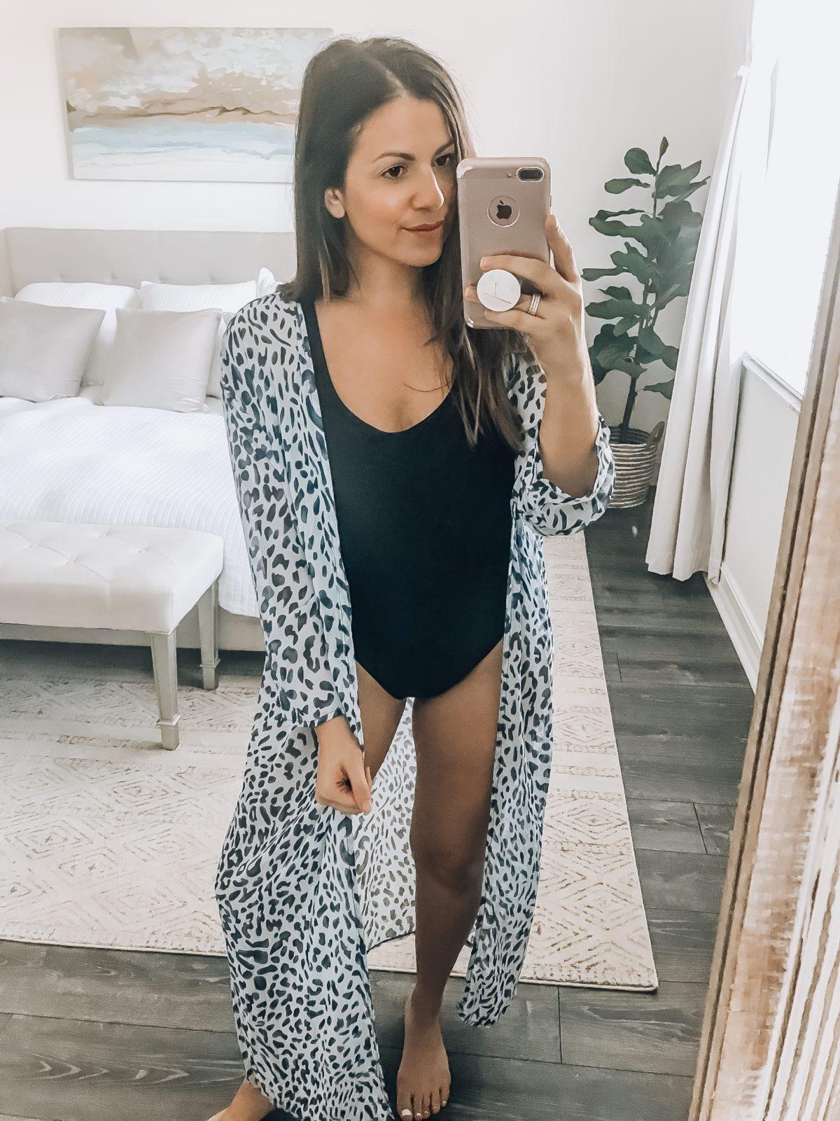 Loose Kimono Cover Up, Amazon Fashion  Swim Kimono CoverUp