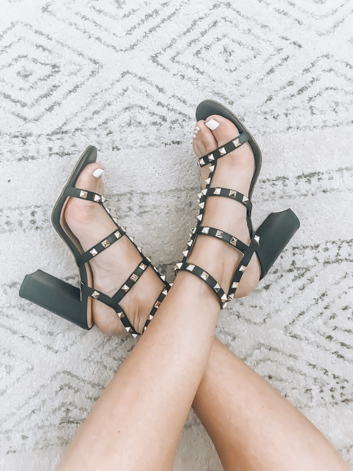 Gladiator Studded Sandals, Valentino rocketed dupes