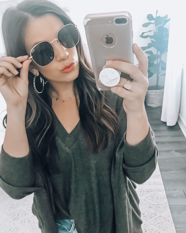 Quay Jezabell Gold Smoke Sunglasses