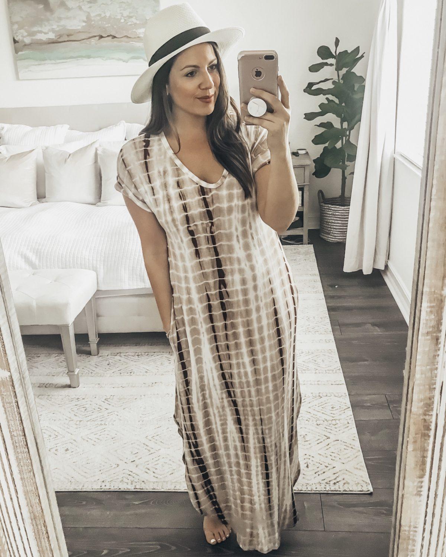 Tie Dye Maxi Dress Amazon