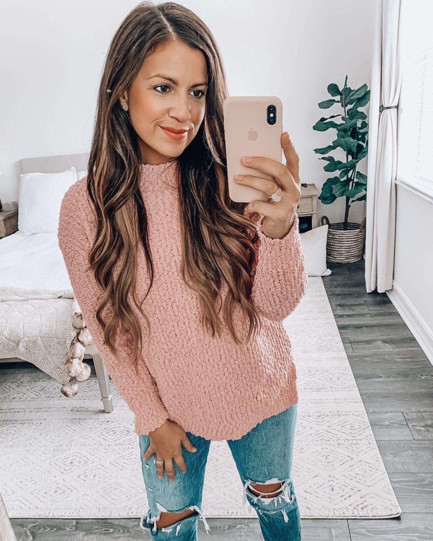 Amazon Fashion terry sweater