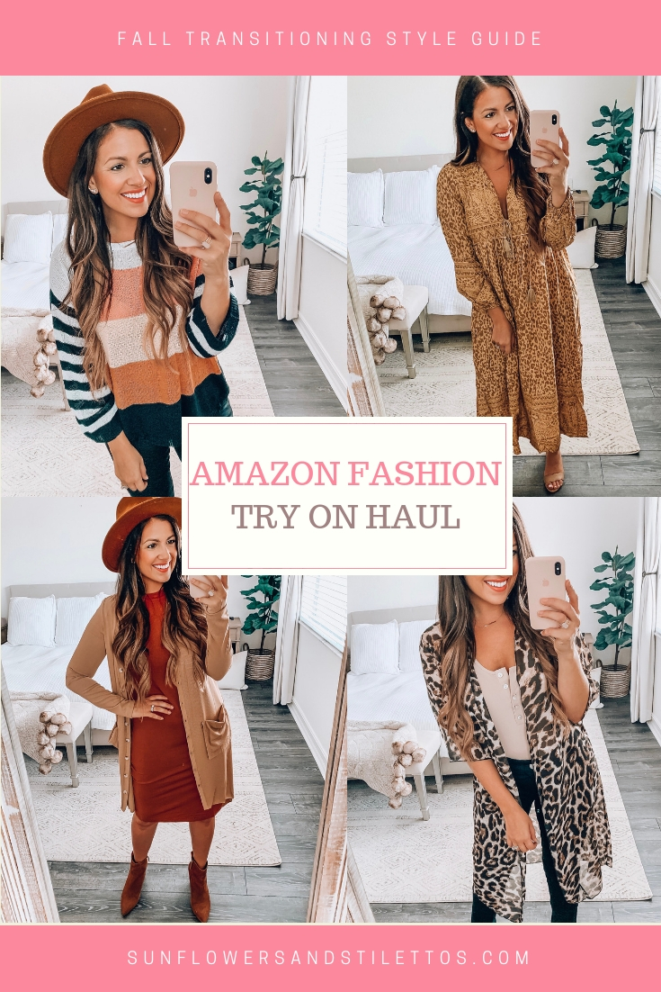 Amazon Fashion Fall Style by Jaime Cittadino, Sunflowers and Stilettos blog