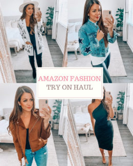 Amazon Fashion Haul Fall Style, affordable fashion blogger Jaime Cittadino, Sunflowers and Stilettos blog
