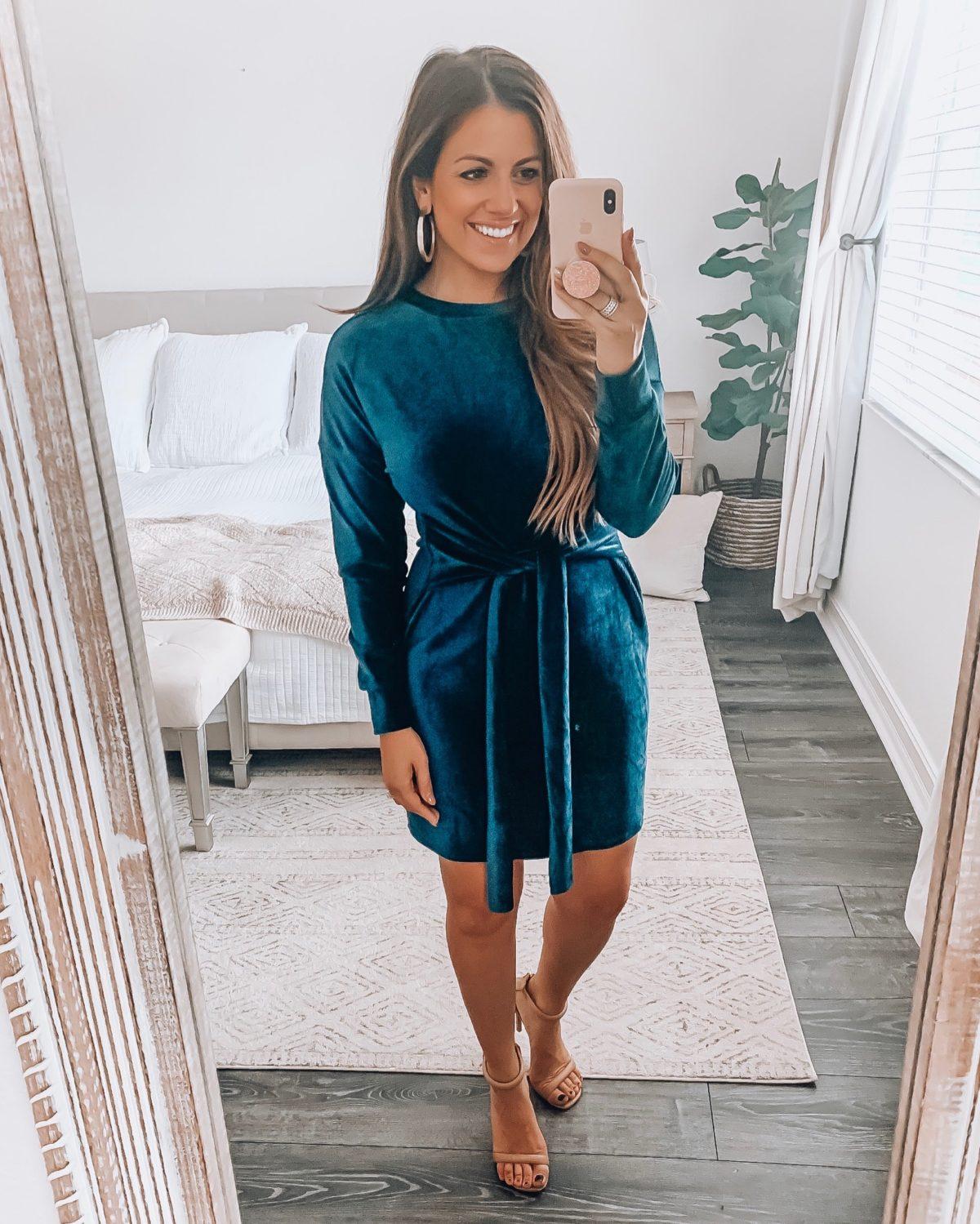 velvet dress, Amazon dress
