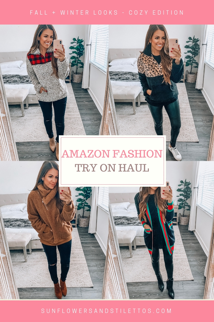Amazon Fashion Fall and Winter Style Inspo, Cozy Sweaters Amazon, Florida Fashion Blogger Jaime Cittadino