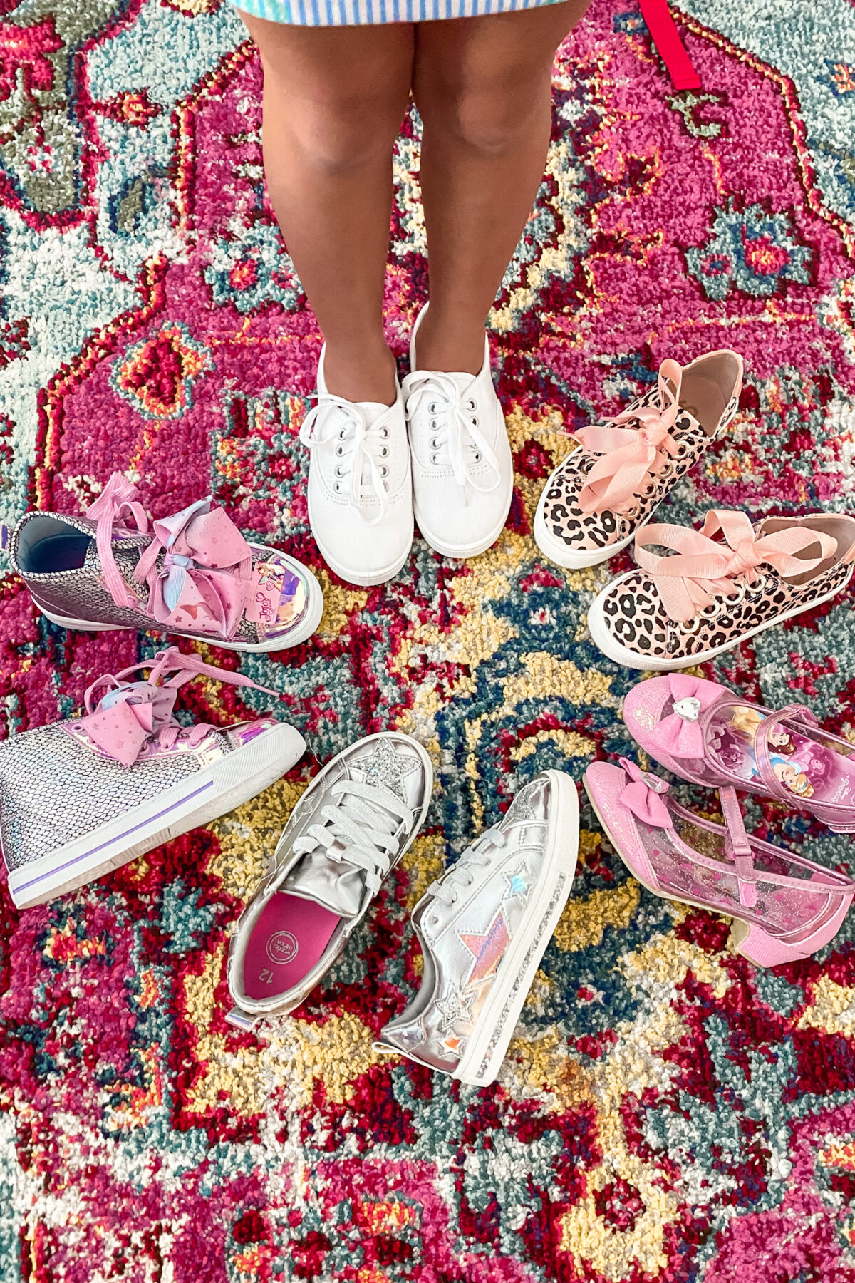 girls sneakers, girls high tops, JoJo Sewa high tops, Walmart fashion