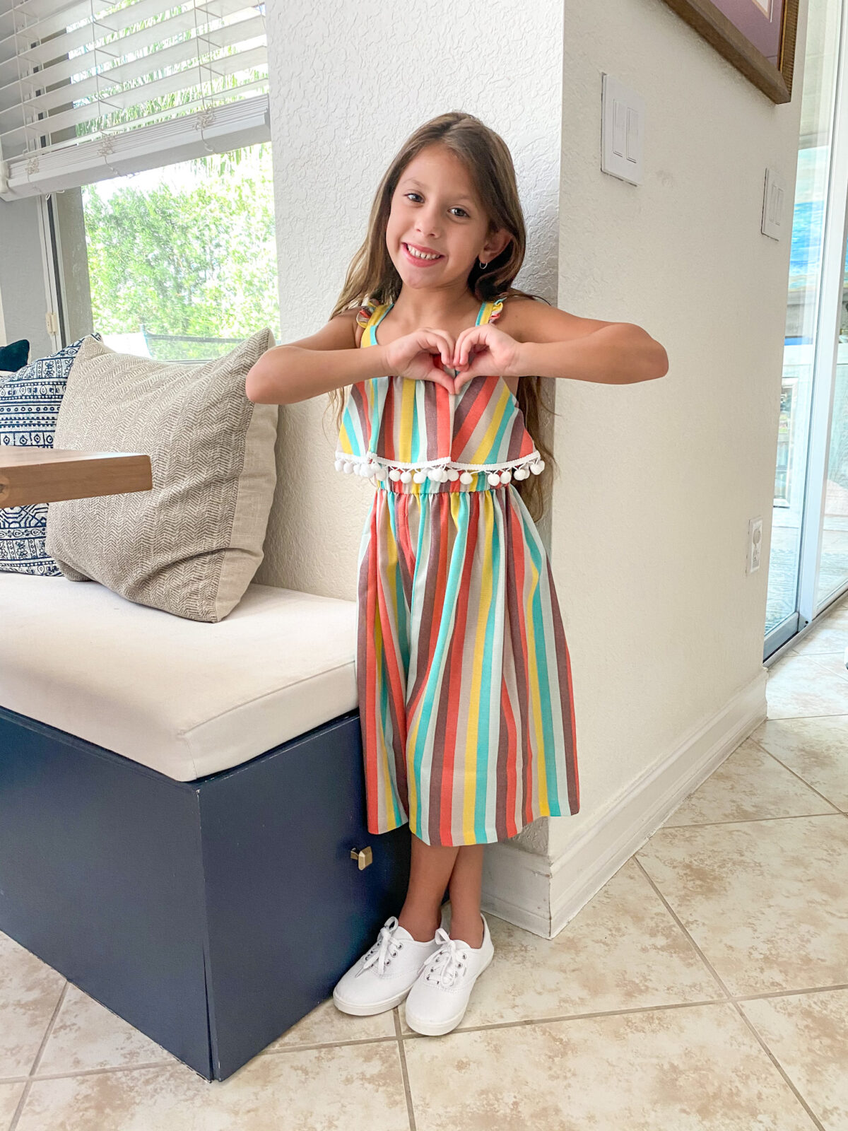 Walmart stripe jumpsuit
