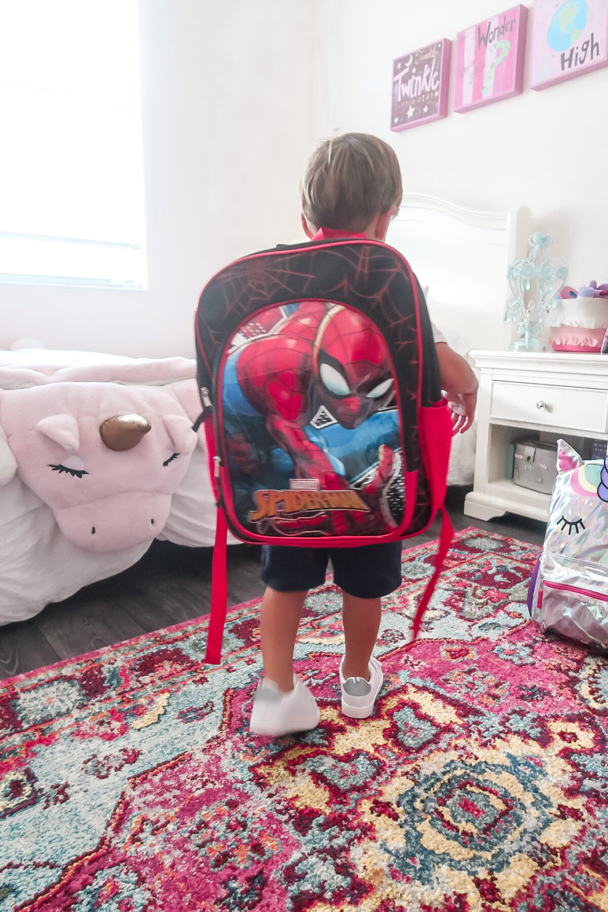 Walmart Spiderman backpack