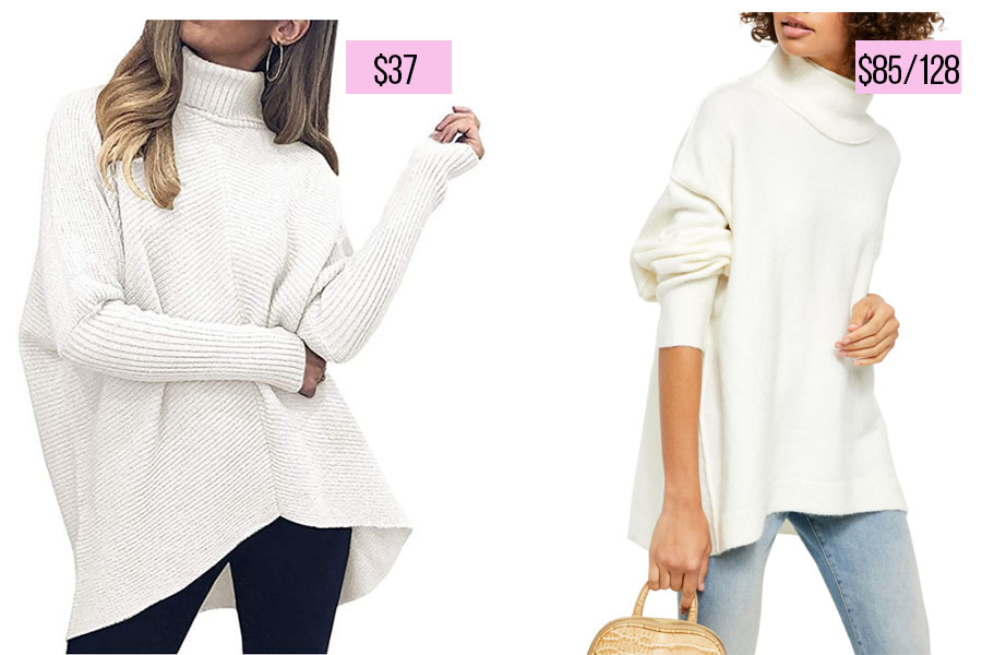 Free People dupe sweater
