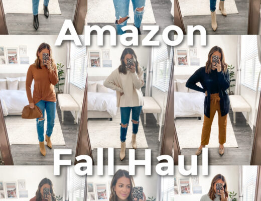 Amazon Fashion Fall Haul, Amazon Sweater, Amazon Leopard Sweater